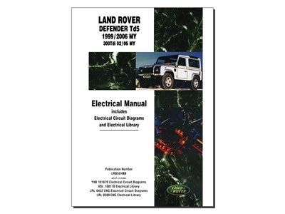 BOOK-DEF TD5 ELECTRICAL MANUAL 99-06